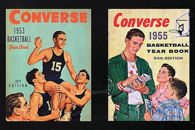 Converse Yearbook 1953 1955 1