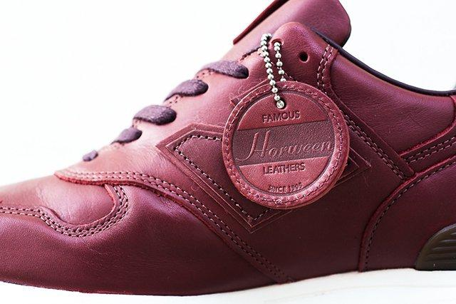 Horween X New Balance 1400 Burgundy 4