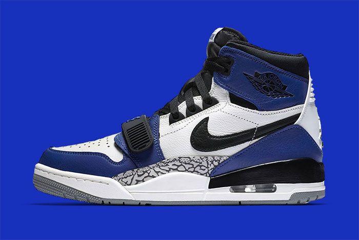 Don C Jordan Legacy 312 Storm Blue Release Date 1