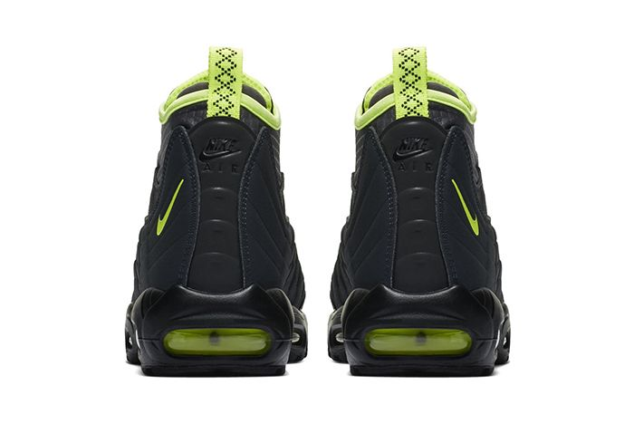 Nike Air Max 95 Sneakerboot Black Volt 3