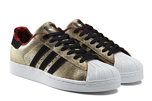 Adidas Originals Superstar Gold Year Of The Horse Profile