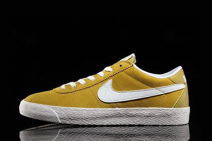Nike Sb Bruin Premium Peat Moss Yellow 7