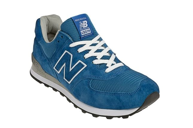 New Balance Race Inspired 574 Blue Angle 1