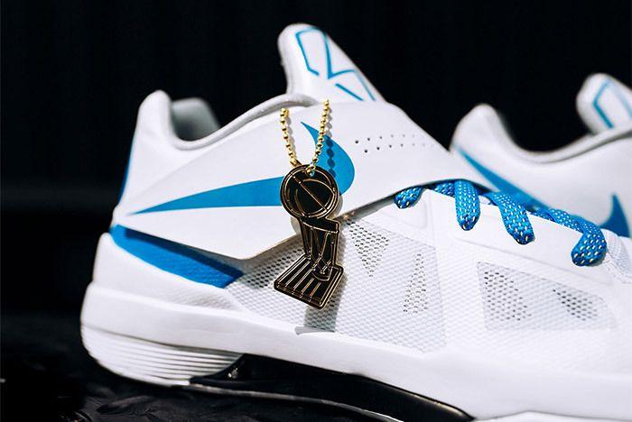 Nike Kd 4 White Blue Art Of A Champion 3