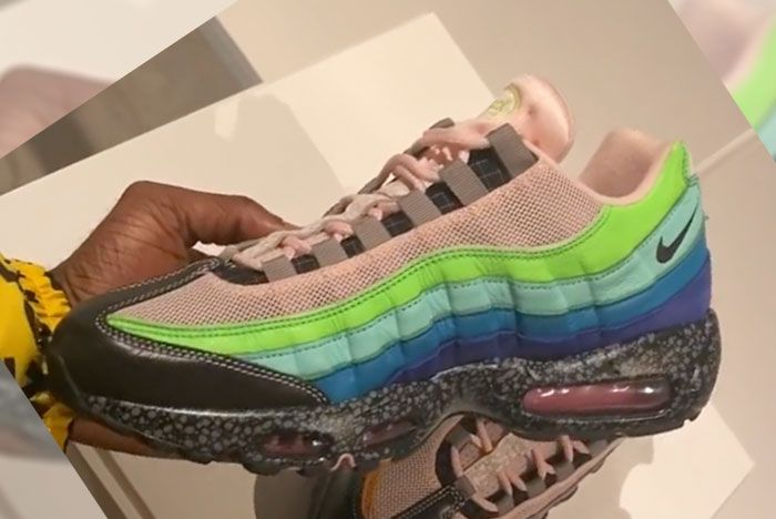 Size Nike Air Max 95 20 Years Of Size Medial