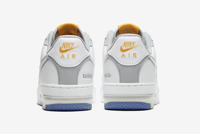 Nike Air Force 1 React Uni Gold Heels