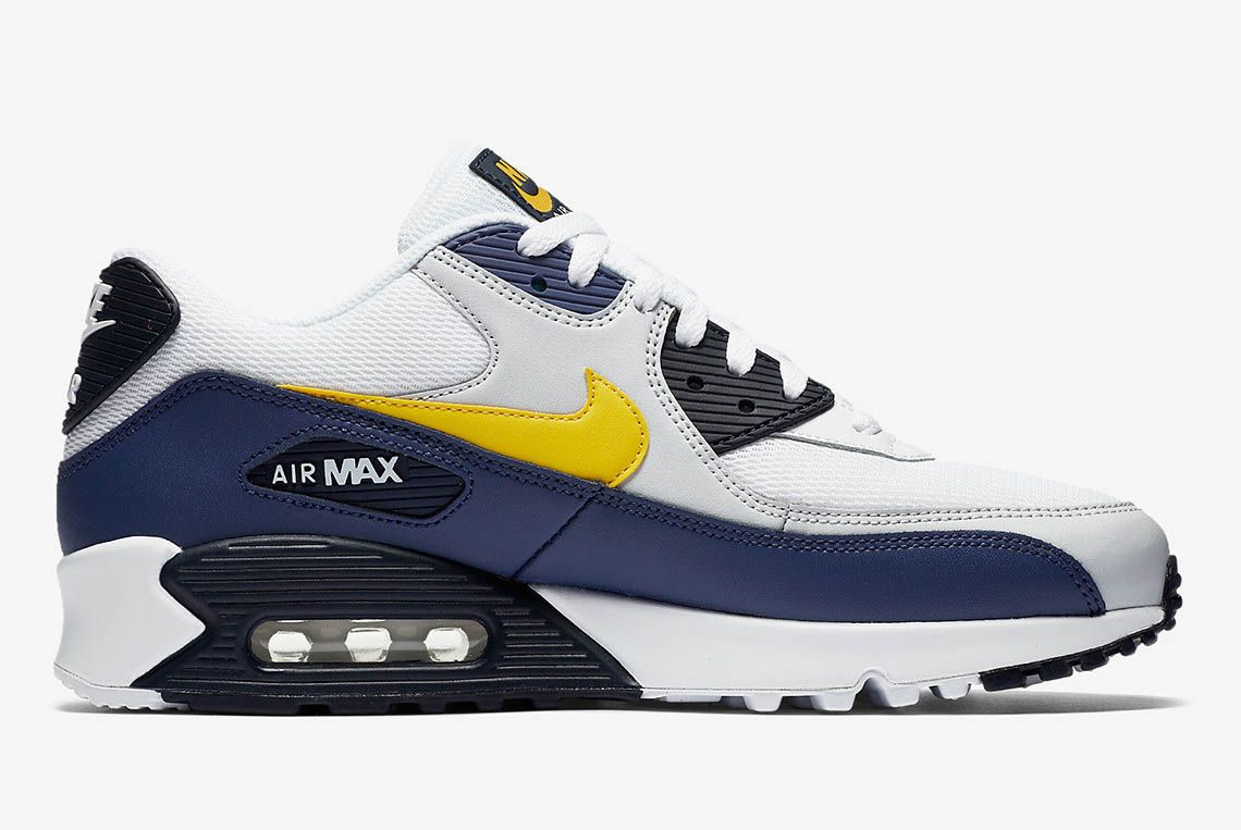 Nike Air Max 90 Michigan Aj1285 101 Buy Now 5 Sneaker Freaker