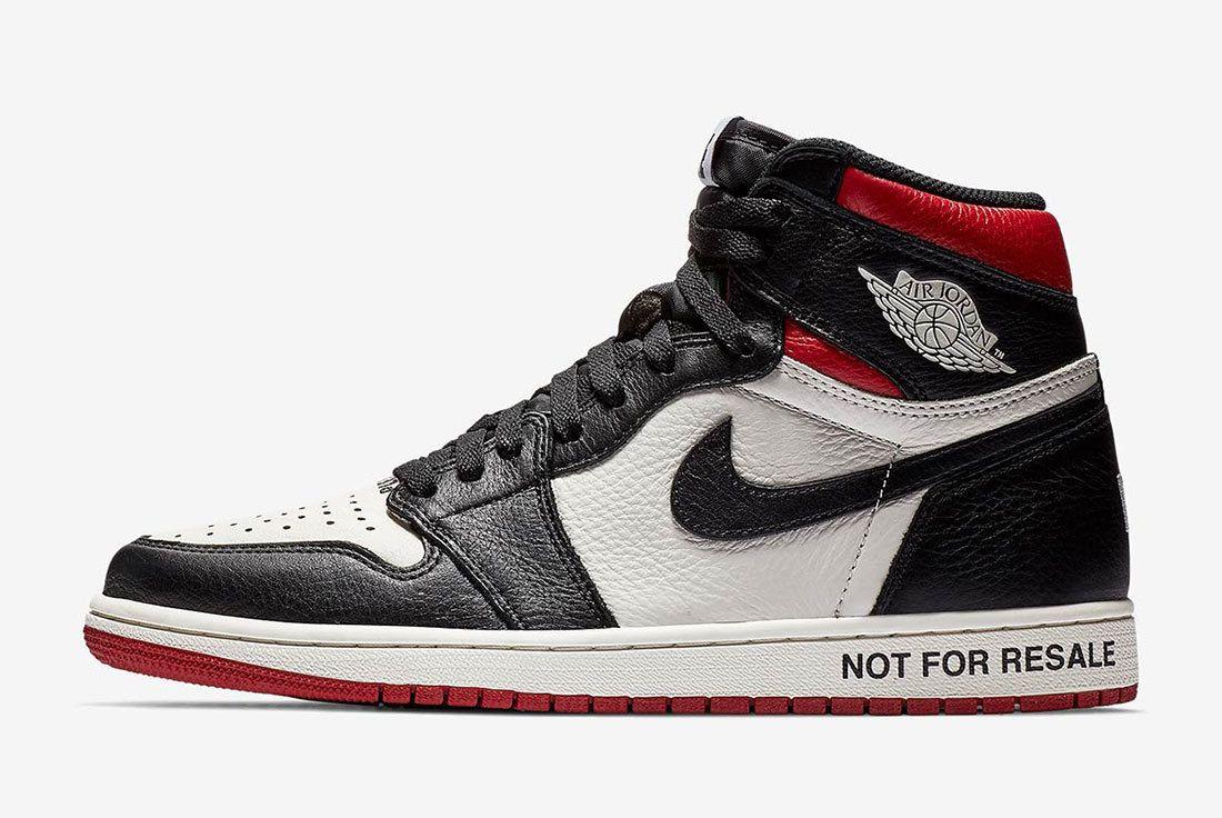 Air Jordan 1 Not For Resale Red 861428 106 2
