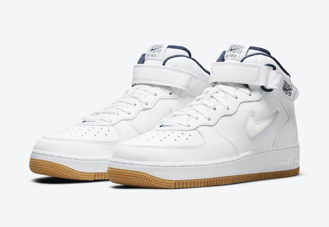 Nike Air Force 1 Mid NYC Jewel Yankees