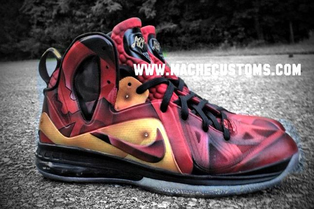 Nike Lebron 9 Elite Tony Starks Profile 1