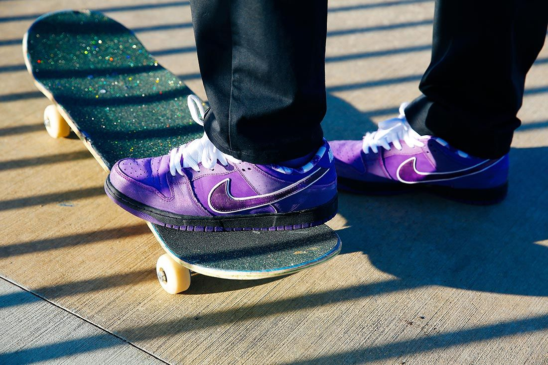 Concepts Nike Sb Dunk Low Purple Lobster Bv1310 555 Hero