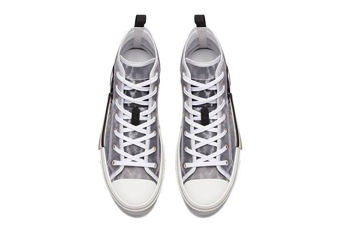 Dior B23 High Top Leopard Print Sneaker 1 Top2