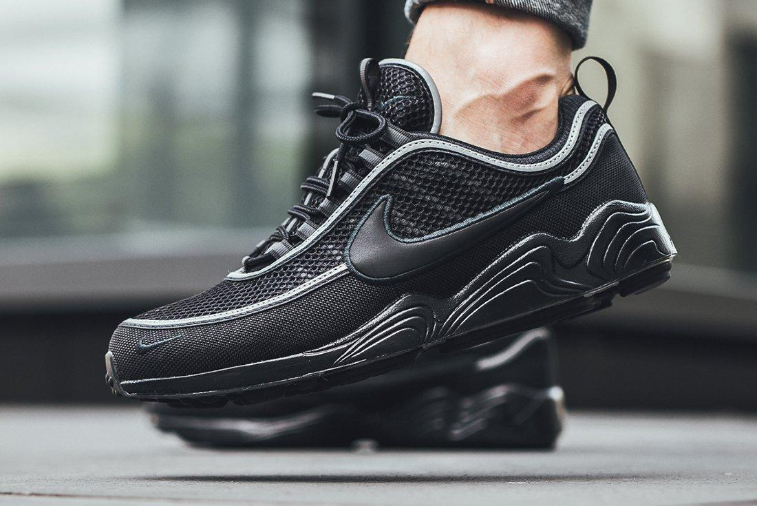 Nike Air Zoom Spiridon 16 Black Anthracite 2