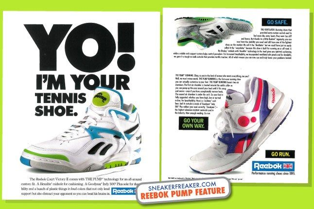 Reebok Pump Advertising 1