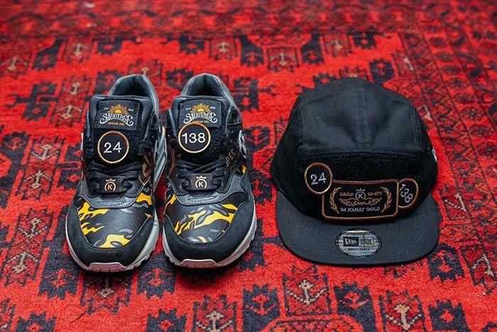 24 Kilates Sbtg Nike Air Max 1 Black Pair