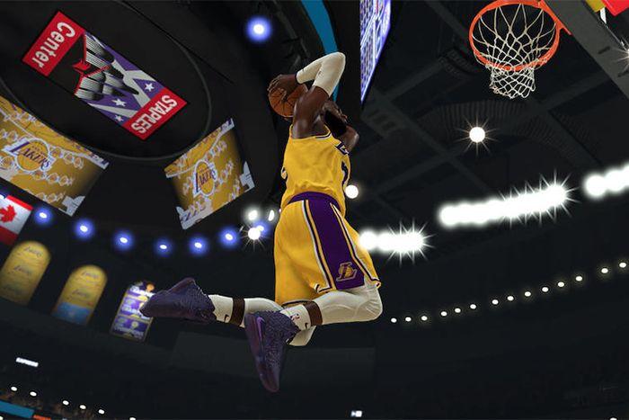 Nike Lebron 17 2K20 Ge Gamer Exclusive Purple Release Date Screenshot
