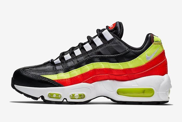 Nike Air Max 95 Black Neon Red 307960 019 1