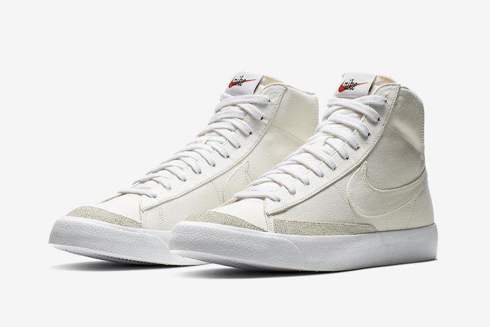 Nike Blazer Mid Canvas Pack Sail Pair