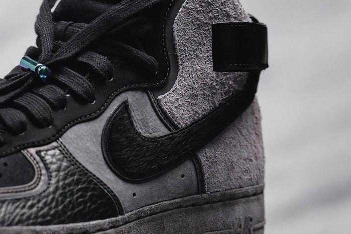 A Ma Maniere Nike Air Force 1 Hand Wash Cold High Heel Detail