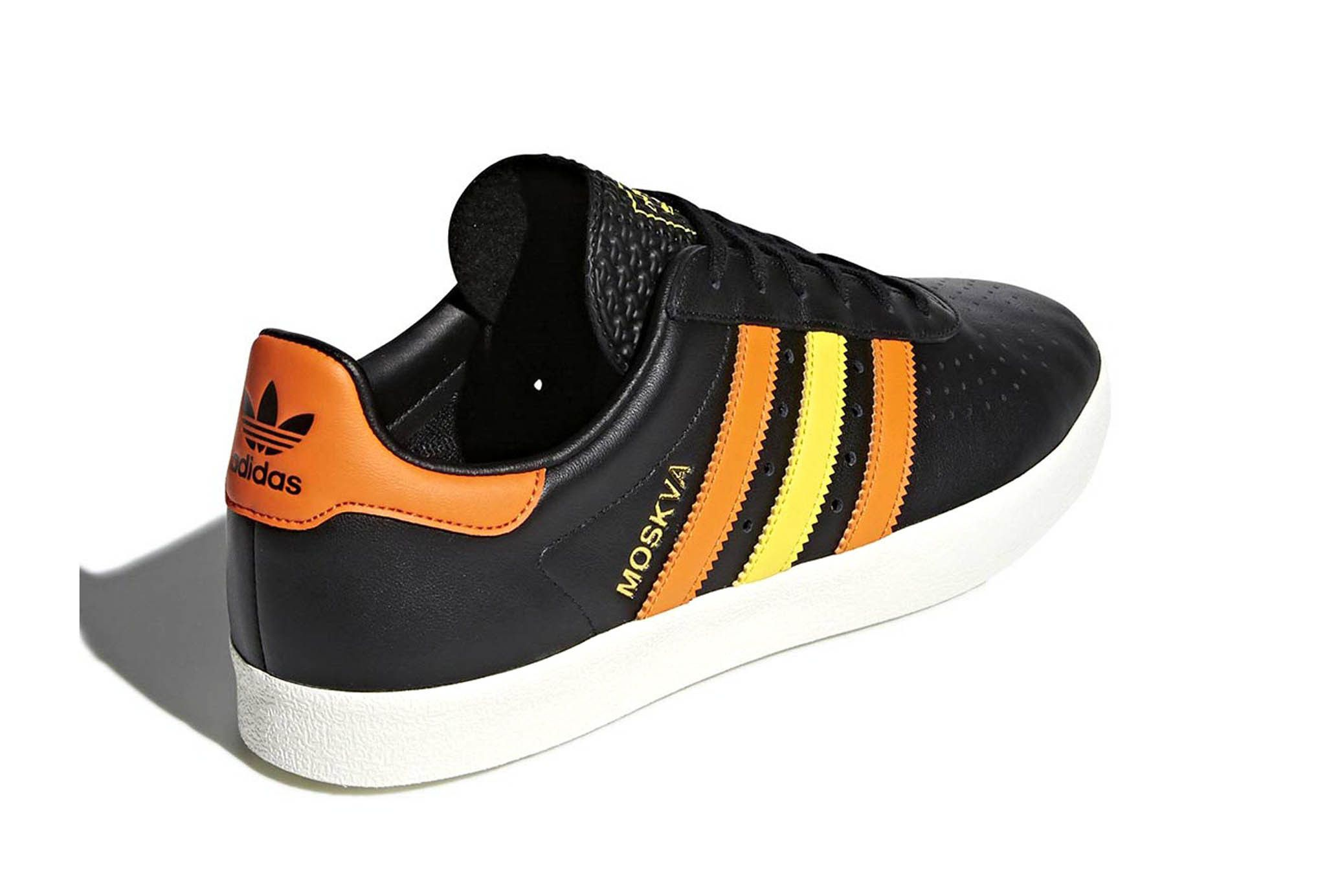 Adidas 350 Moscow Black White Leather Release 8 Sneaker Freaker