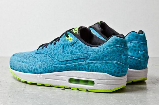Nike Air Max 1 Fb Blue Leopard 3 1