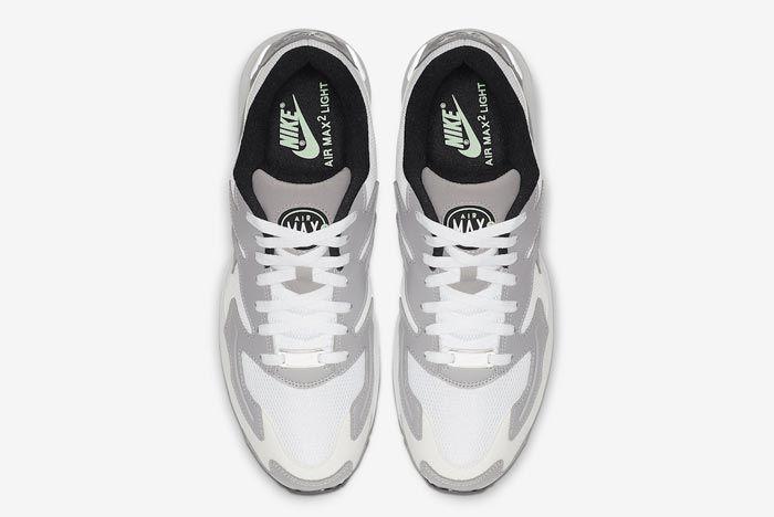 Nike Air Max2 Vast Grey Fresh Mint Top