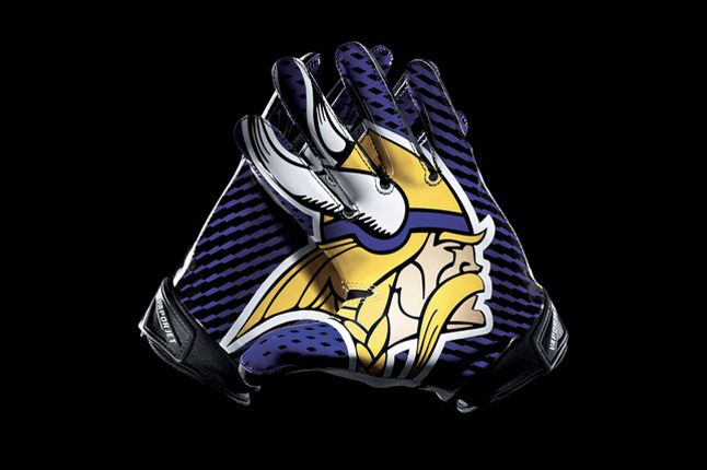 Minnesota Vikings Glove 1