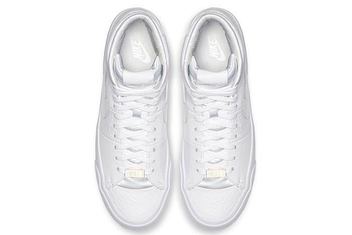 blazer royal triple white