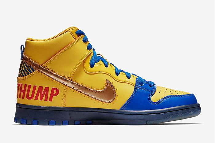 Nike Sb Dunk High Doernbecher Release Date Right
