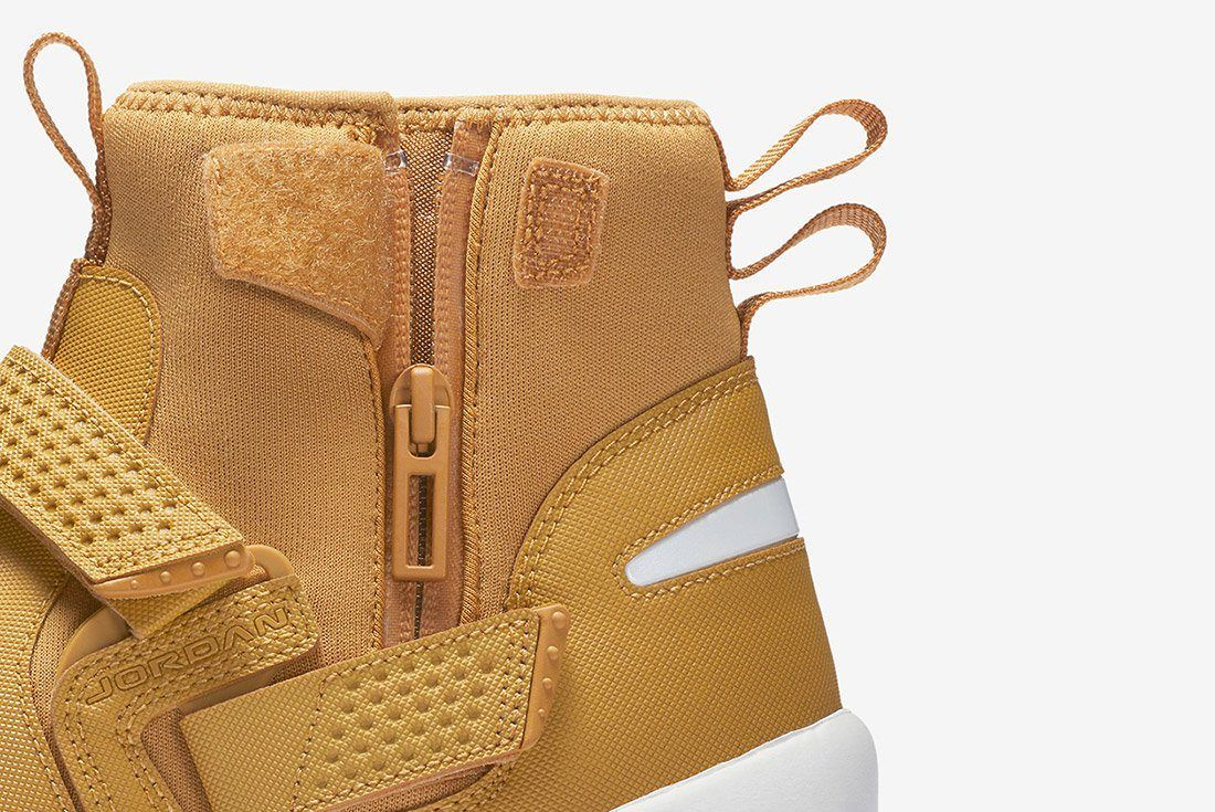 Air Jordan Trunner Lx High Golden Harvest Wheat Brown 1