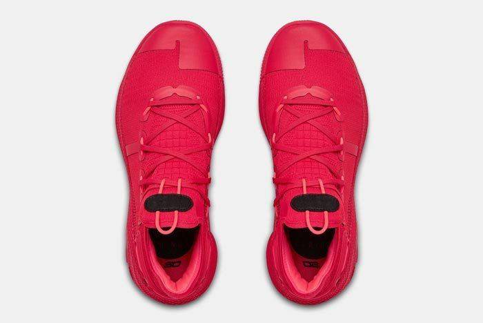 Under Armour Curry 6 Red 4