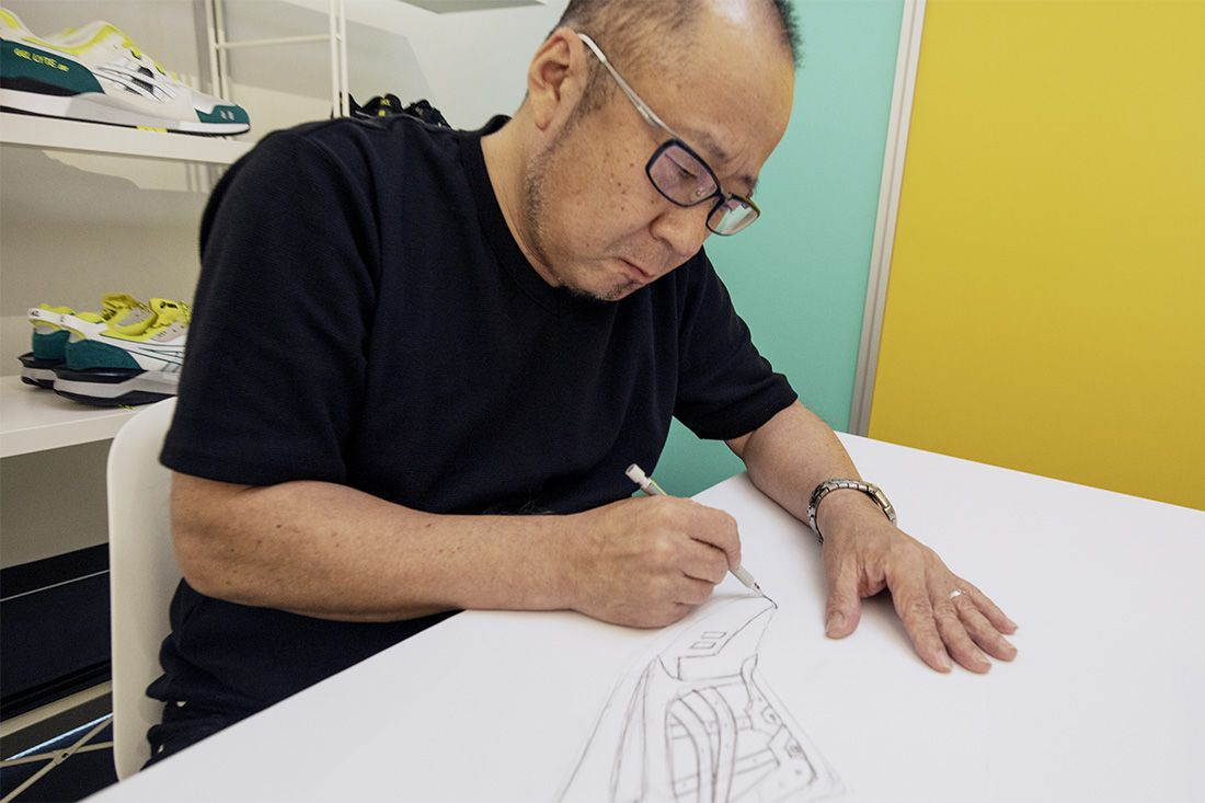 Asics Gel Lyte Iii Shigeyuki Mitsui Design Studio Recreation 1 Mitsui