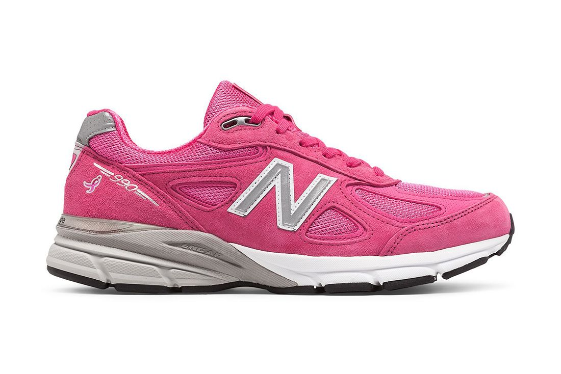 New Balance 990V4 Pink Ribbon Lateral
