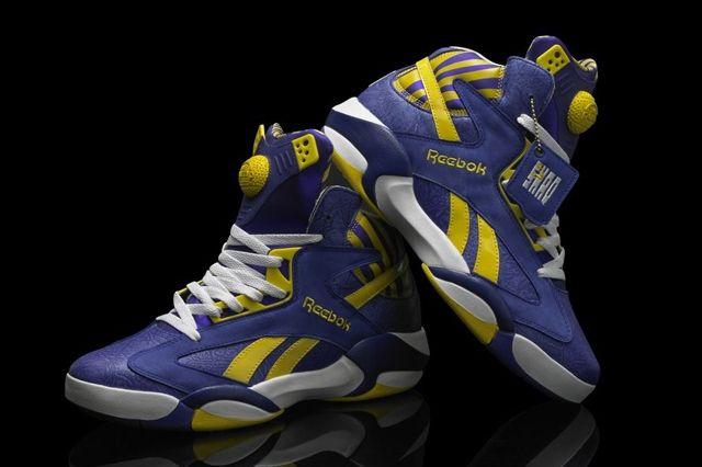 Reebok Classic Shaq Attaq Lakers 2