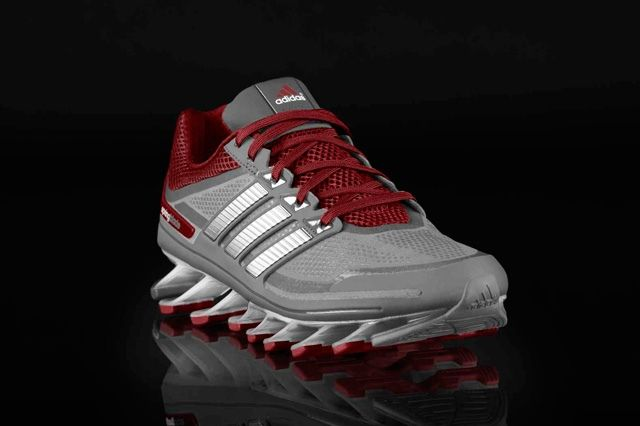 Adidas Springblade Grey Red Profile
