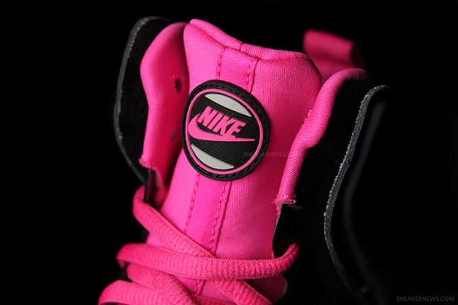 Nike Dunk High Free Grey Pink Tongue 1
