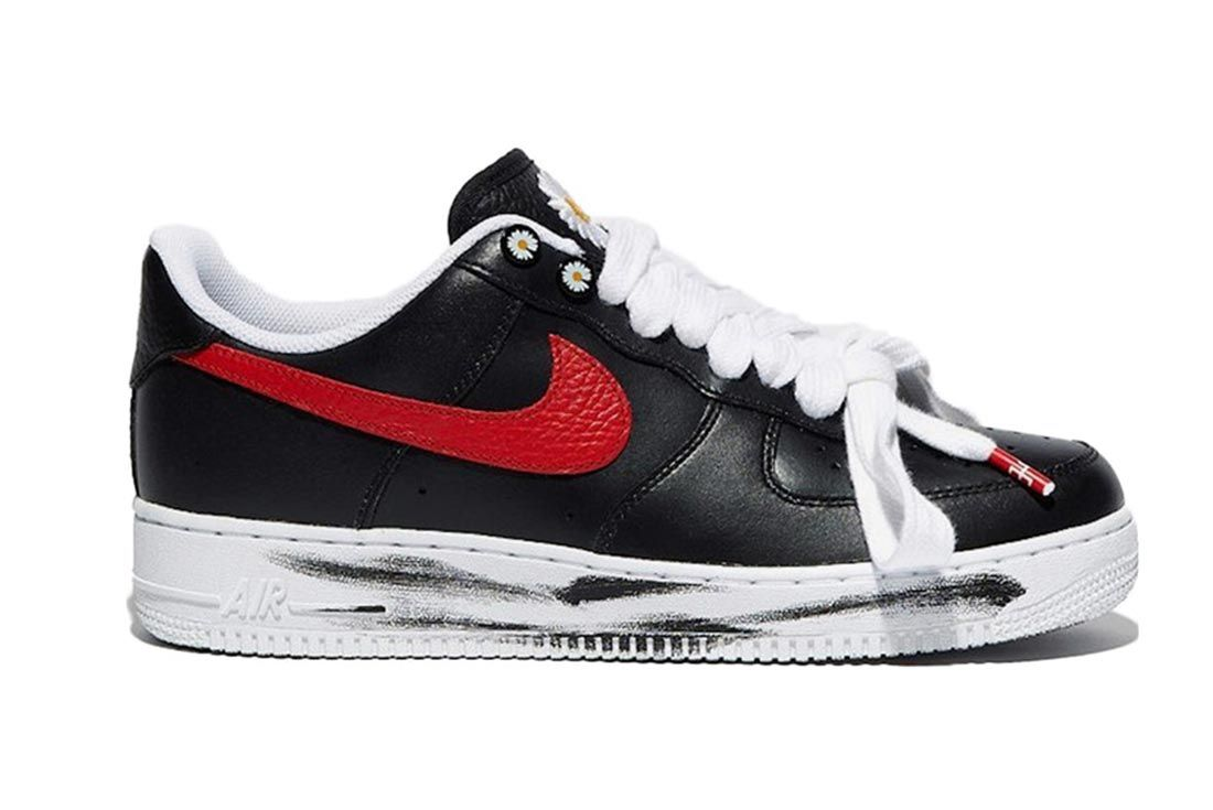 Nike Air Force 1 Low G Dragon Peaceminusone Para Noise Korea Exclusive Lateral Side Shot
