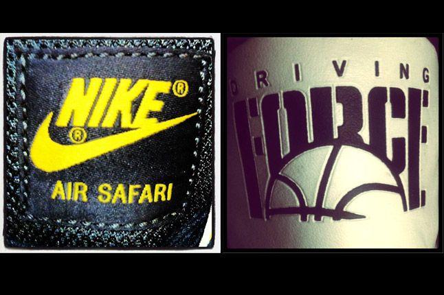 Nike Air Safari Driving Force Logo 1