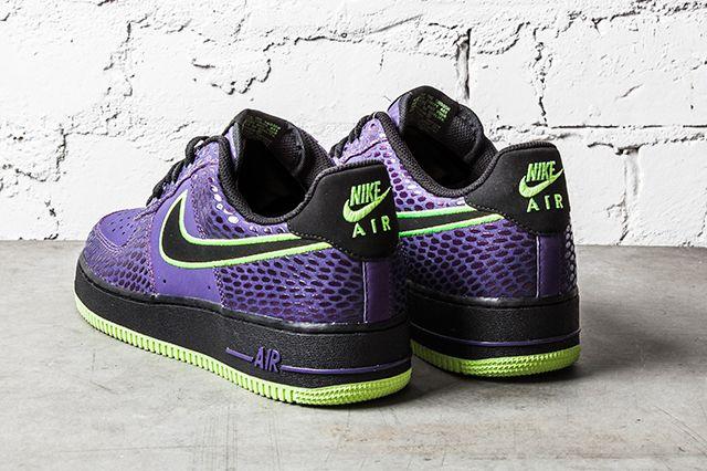 Nike Air Force 1 Court Purple Volt 1