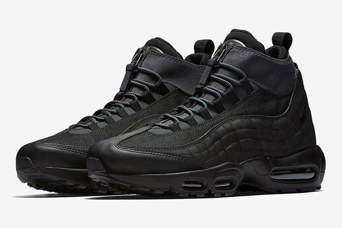 Nike Air Max 95 Sneaker Boot Triple Black 1
