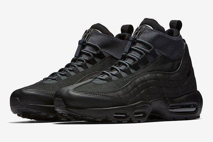 Nike Air Max 95 Sneaker Boot Triple Black 1
