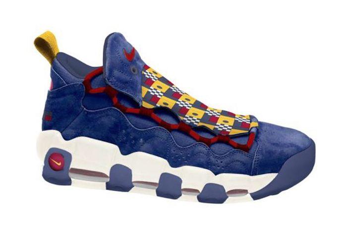Nike Air More Money Nautical Ar5396 400 Sneaker Freaker 1