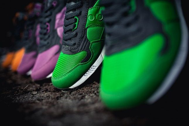 Saucony X Solebox Three Brothers Part 2 Pack Toeboxes 1