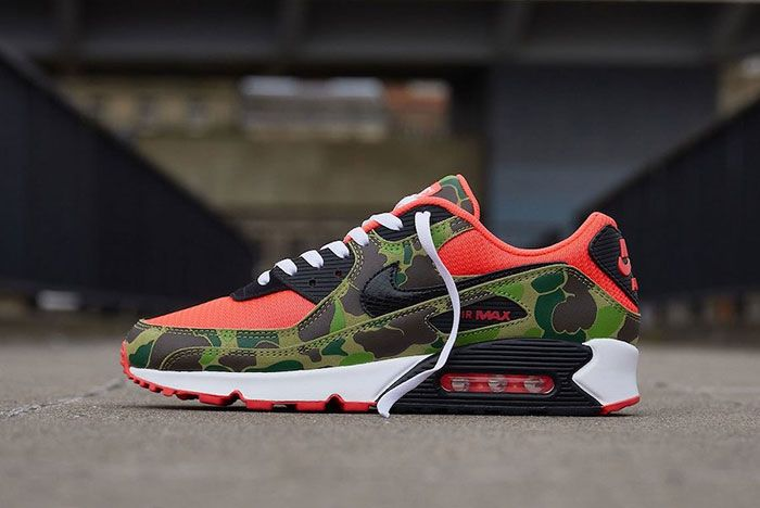 Nike Air Max 90 Duck Camo Lateral