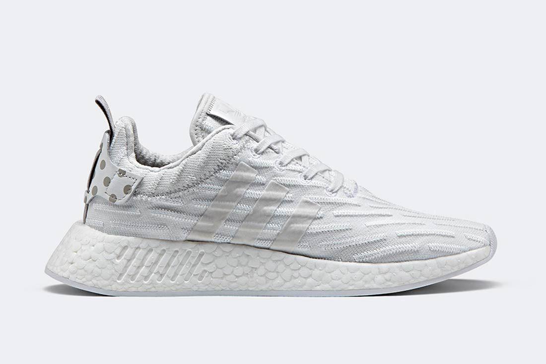 Adidas Nmd R2 Triple White 2