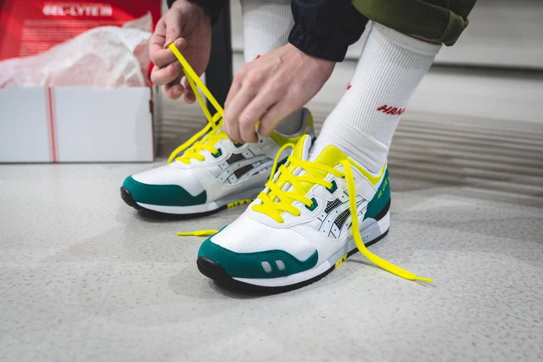 Asics Gel Lyte Iii Hanon Thomas Lindie Interview Og Lacing