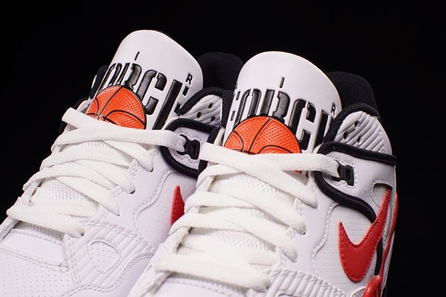 Nike Air Force 3 Low White Varred Bumper 2