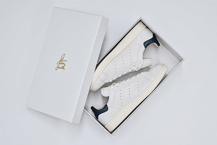 Adidas Stan Smith Leather Reconstructed White Black 1