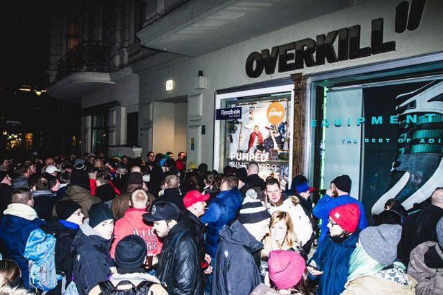 Overkill Adidas Eqt Launch 16