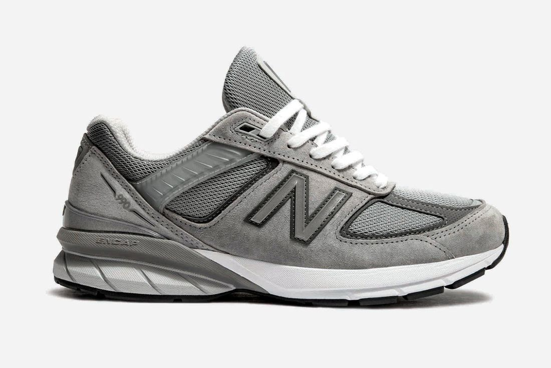 New Balance 990V5 Grey Lateral Side